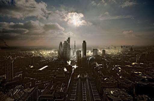 Sir Norman Foster Building「City of London facin South」:スマホ壁紙(19)