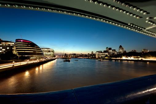 London Bridge - England「City of London by night」:スマホ壁紙(17)
