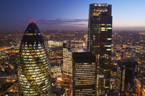 Sir Norman Foster Building「City of London. Financial District.」:スマホ壁紙(14)
