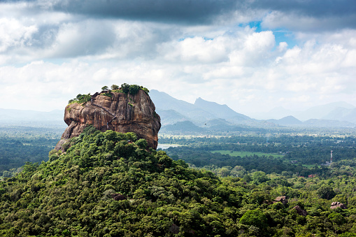 Sri Lanka「Lion rock, Dambulla, Matale District, Central Province, Sri Lanka」:スマホ壁紙(2)