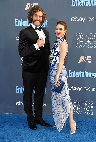 T 「The 22nd Annual Critics' Choice Awards - Arrivals」:写真・画像(11)[壁紙.com]