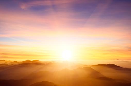 Orange Color「sunset」:スマホ壁紙(19)
