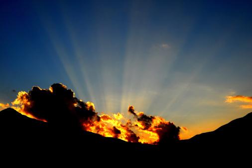 神秘「Sunset」:スマホ壁紙(17)
