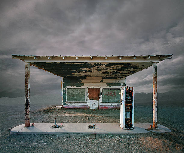 Abandoned Gas Station, Niland CA:スマホ壁紙(壁紙.com)