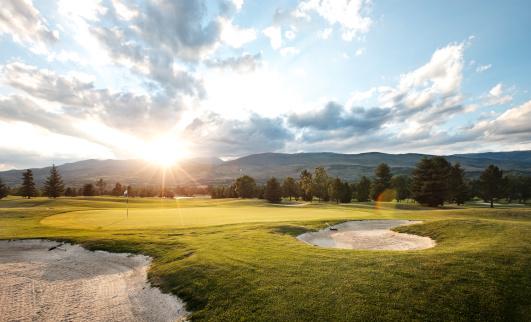 Sand Trap「Golf at sunset」:スマホ壁紙(19)
