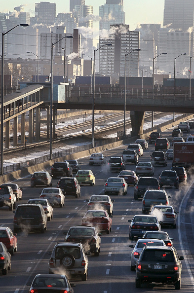 Scott Olson「Chicago Ranked Number One In Traffic Congestion Study」:写真・画像(12)[壁紙.com]