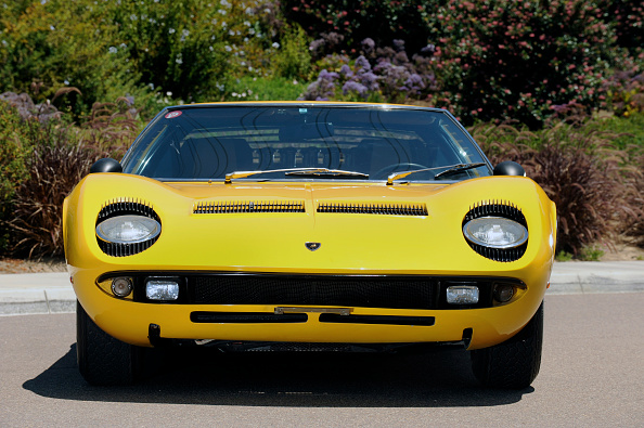 Land Vehicle「Lamborghini Miura p400s 1970」:写真・画像(11)[壁紙.com]
