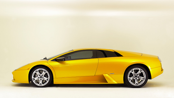 Side View「2003 Lamborghini Mucielago」:写真・画像(6)[壁紙.com]