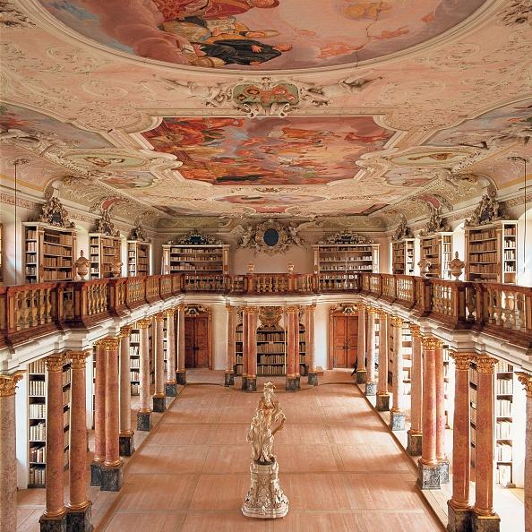 Benedictine「Monastery library」:写真・画像(1)[壁紙.com]