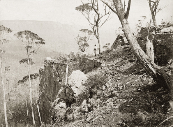 Gazebo「In The Blue Mountains (Mountainous Region Close To Sydney). Australia. Photograph. About 1885.」:写真・画像(17)[壁紙.com]