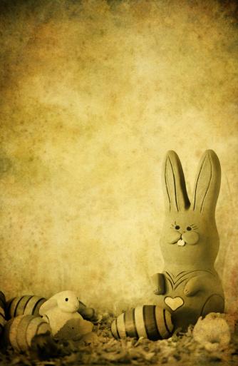 Easter Bunny「vintage easter bunny」:スマホ壁紙(13)