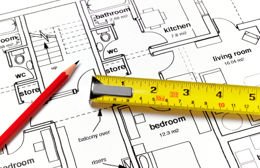 Choice「House plans with ruler and pencil」:スマホ壁紙(10)