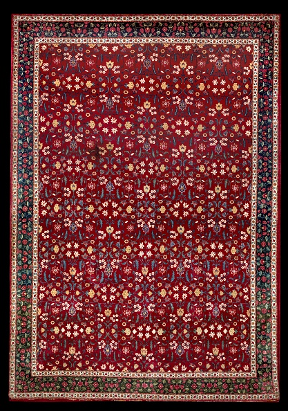 Full Frame「Mughal Carpet With Floral Pattern」:写真・画像(8)[壁紙.com]