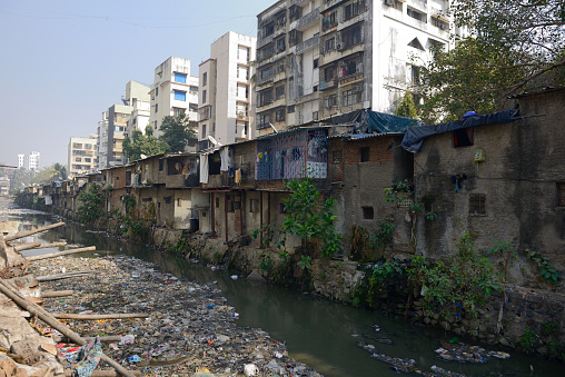 Housing Project「Slum and buildings in Mumbai」:スマホ壁紙(16)