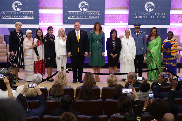 Auditorium「Secretary Of State Pompeo And First Lady Melania Trump Attend International Women Of Courage Awards」:写真・画像(17)[壁紙.com]