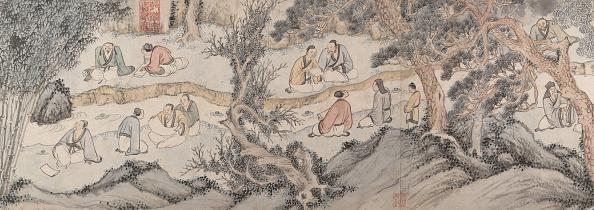 16th Century「Gathering At The Orchid Pavilion」:写真・画像(1)[壁紙.com]