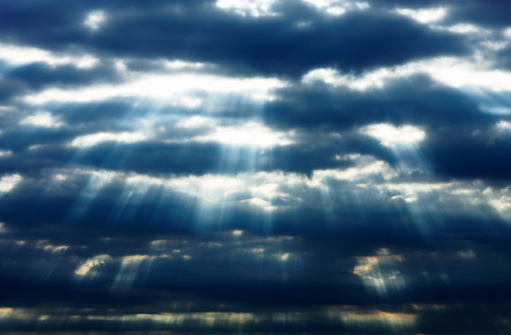 Atmospheric Mood「Light from the sky」:スマホ壁紙(0)