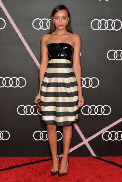 Metallic Shoe「Audi Celebrates The 2014 Golden Globes Weekend - Arrivals」:写真・画像(18)[壁紙.com]