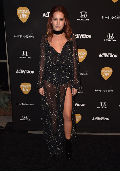 Ashley Tisdale「Guitar Hero Live's Launch Party」:写真・画像(19)[壁紙.com]