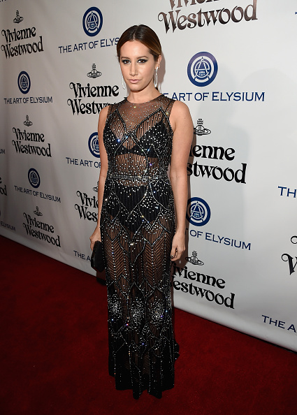 Ashley Tisdale「The Art of Elysium Presents Their 9th Annual Heaven by Visionaries Vivienne Westwood & Andreas Kronthaler - Red Carpet」:写真・画像(16)[壁紙.com]