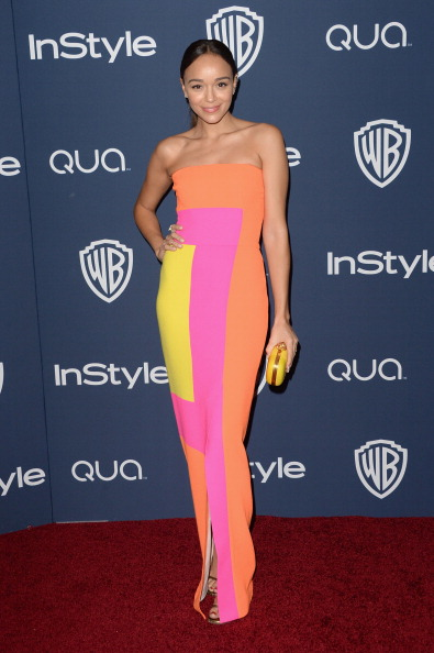 Yellow「2014 InStyle And Warner Bros. 71st Annual Golden Globe Awards Post-Party - Arrivals」:写真・画像(13)[壁紙.com]