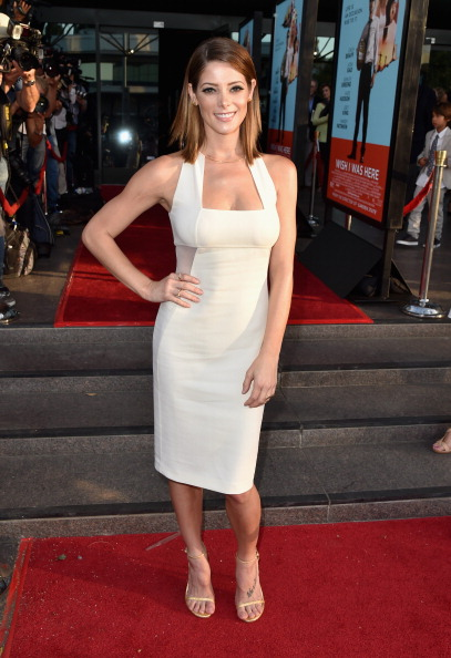 """Ashley Greene「Premiere Of Focus Features' """"Wish I Was Here"""" - Red Carpet」:写真・画像(9)[壁紙.com]"""
