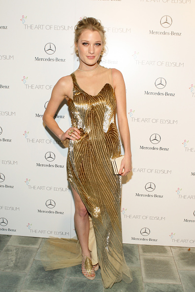 Evening Gown「The Art of Elysium's 7th Annual HEAVEN Gala Presented by Mercedes-Benz - Red Carpet」:写真・画像(13)[壁紙.com]