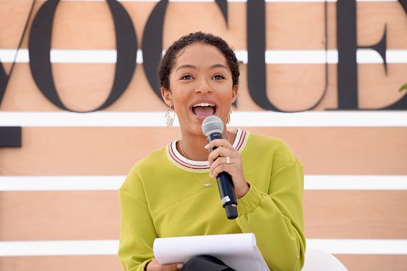 Teenager「The Teen Vogue Summit LA: Keynote Conversation with Hillary Rodham Clinton and Actress Yara Shahidi」:写真・画像(15)[壁紙.com]