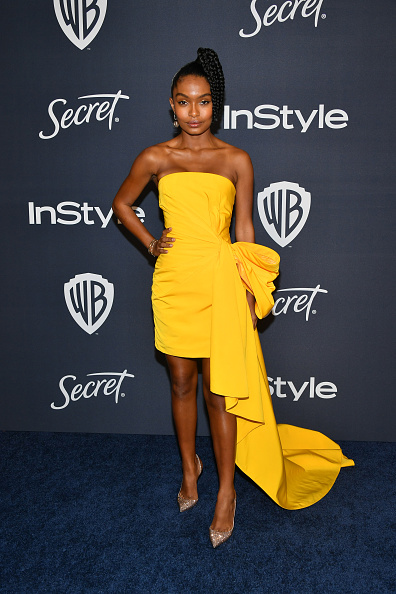 Yellow Dress「21st Annual Warner Bros. And InStyle Golden Globe After Party - Arrivals」:写真・画像(11)[壁紙.com]