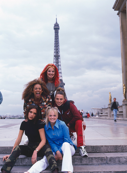1996「Spice Girls In Paris」:写真・画像(4)[壁紙.com]