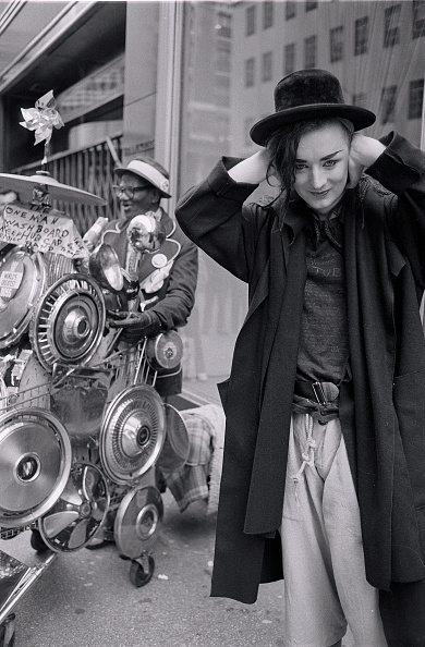 Culture Club「Culture Club's Boy George In NYC」:写真・画像(9)[壁紙.com]