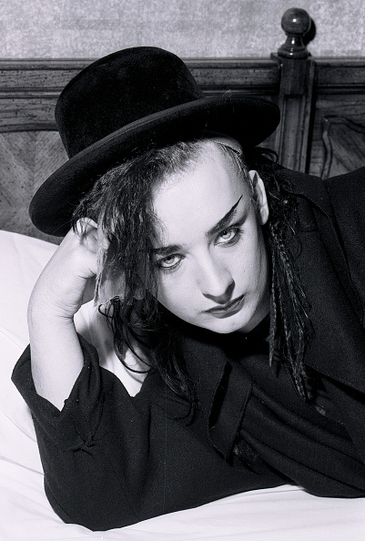 Culture Club「Portrait Of Culture Club's Boy George」:写真・画像(12)[壁紙.com]