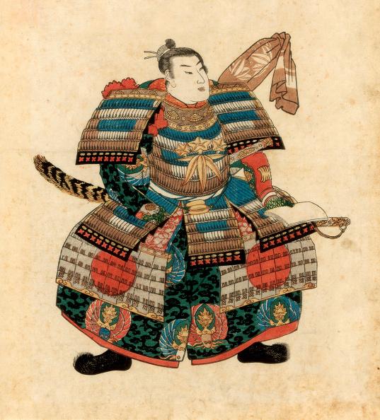 戦国武将「Japanese warlord Minamoto no Yoritomo, 1845.Artist: Utagawa Kuniyoshi」:写真・画像(7)[壁紙.com]