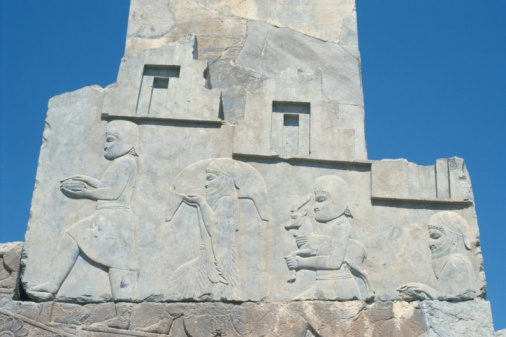 Iranian Culture「The site of Persepolis, Iran, Low Angle View」:スマホ壁紙(14)