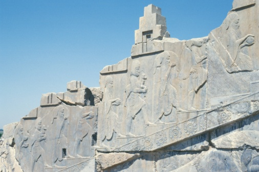 Iranian Culture「The site of Persepolis, Iran, Low Angle View」:スマホ壁紙(13)