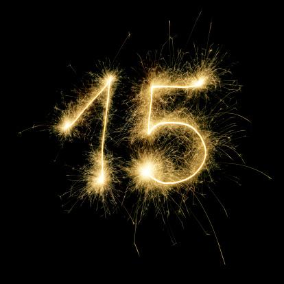 記念日「輝く番号 15 日」:スマホ壁紙(14)