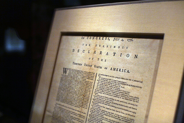 Independence「Declaration Of  Independence Displayed In New York」:写真・画像(18)[壁紙.com]