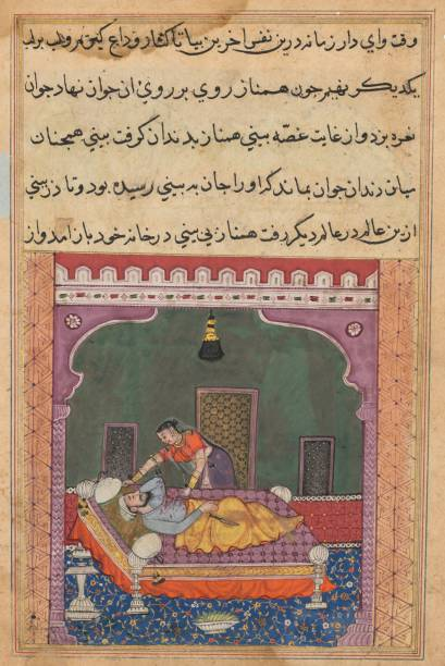 Page From Tales Of A Parrot (Tuti-Nama): Twenty-Fifth Night: In Order To Falsely Implicate...:ニュース(壁紙.com)