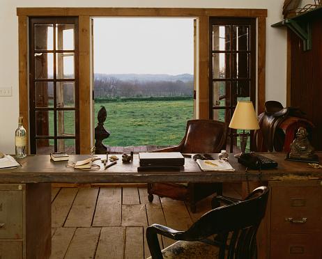 フレンチドア「Tennessee Traditional Horse Farm: French Doors Open to Study」:スマホ壁紙(19)