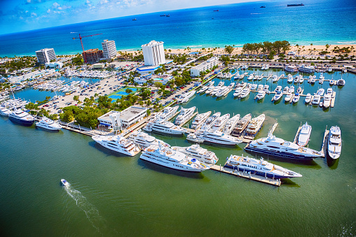 Fort Lauderdale「Fort Lauderdale Marina From Above」:スマホ壁紙(9)