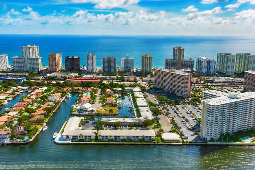 Pompano Beach「Fort Lauderdale Aerial」:スマホ壁紙(14)