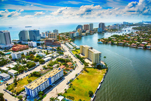 Gulf Coast States「Fort Lauderdale Aerial」:スマホ壁紙(9)