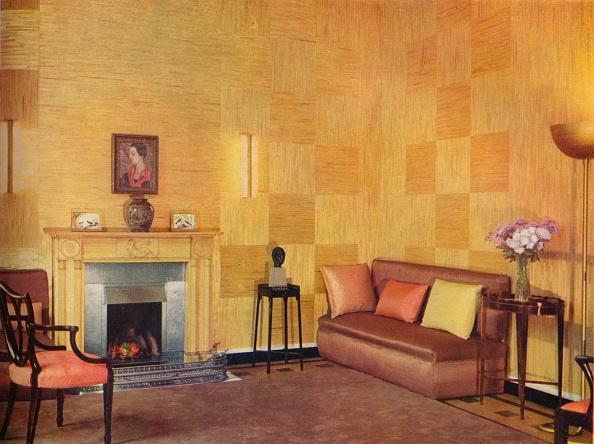 インテリア「Lady Leucha Warner'S Living Room As Decorated By Ronald Fleming', 1933.」:写真・画像(10)[壁紙.com]