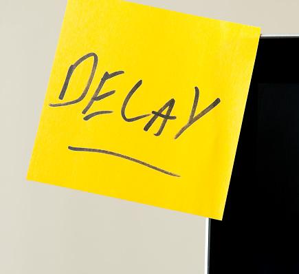 Delayed Sign「Delay」:スマホ壁紙(2)