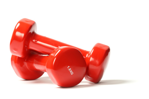 Sports Equipment「Red dumbbell weights」:スマホ壁紙(8)