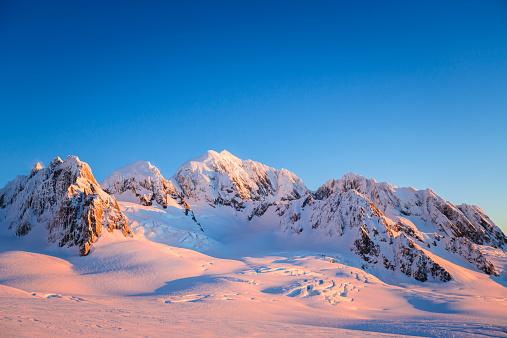 Westland - South Island New Zealand「Mt. Haast, Mt. Lendenfeld, Mt. Tasman.」:スマホ壁紙(8)