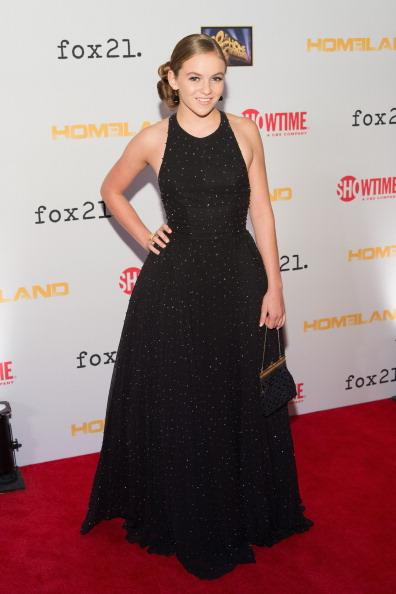 "Morgan Saylor「Showtime And Fox 21 Screening For ""Homeland""」:写真・画像(9)[壁紙.com]"