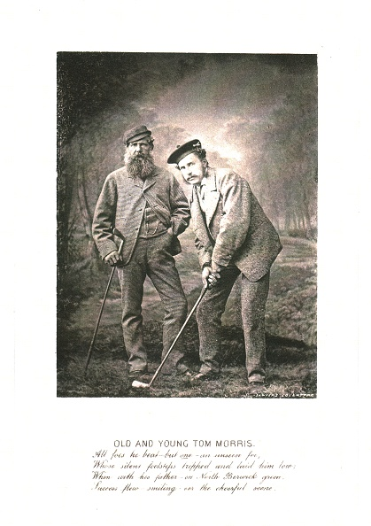 Golf Club「Old And Young Tom Morris」:写真・画像(11)[壁紙.com]