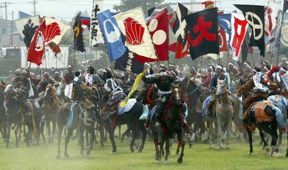 戦国武将「Japanese Enjoy The Samurai Soma-Nomaoi Festival」:写真・画像(11)[壁紙.com]