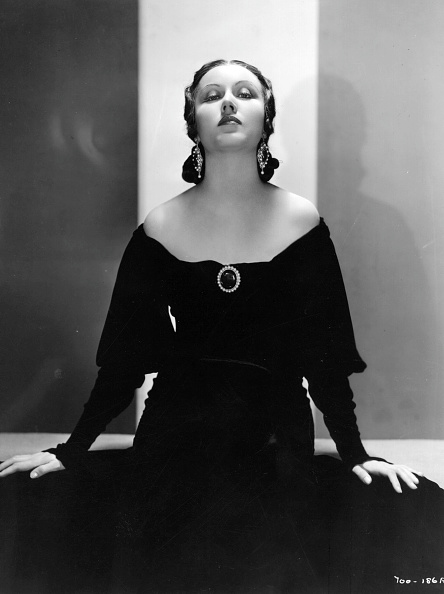 Front View「Portrait Of Actress Fay Wray」:写真・画像(19)[壁紙.com]